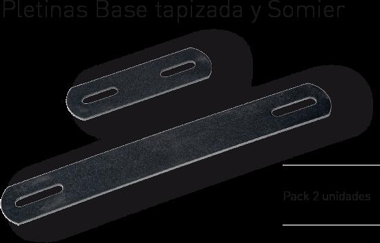 conforttex  accesorios pletinas base